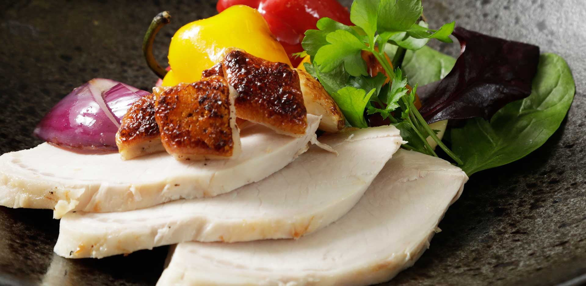 Gourmet dishes professionally prepared