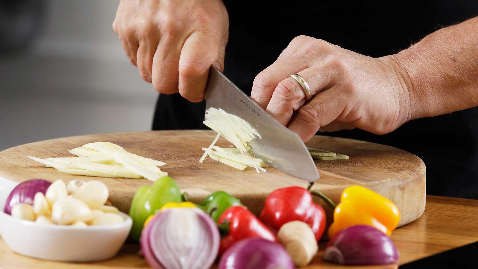 Super-fresh ingredients Skillfully prepared