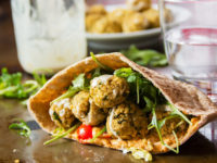 Fried Arabic seasoned Falafel