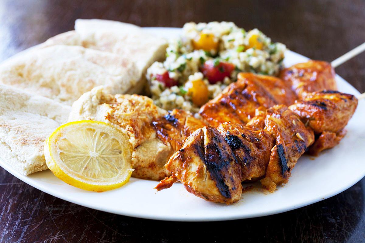 Chicken Tawook Kabob