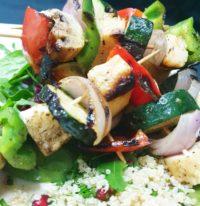 Gourmet Vegetarian Kebabs